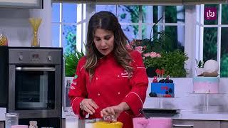الكيكة السحرية بالكريمه - غادة التلي