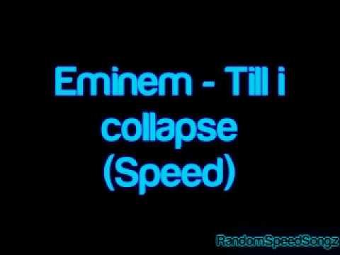 TILL I COLLAPSE HOODIE (BLACK) Official Eminem Online Store
