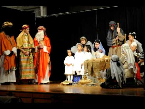 Christmas Play '10 - Mary & Joseph + 3 Kings - YouTube