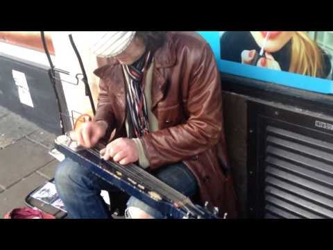 Amazing slide guitarist in Brighton