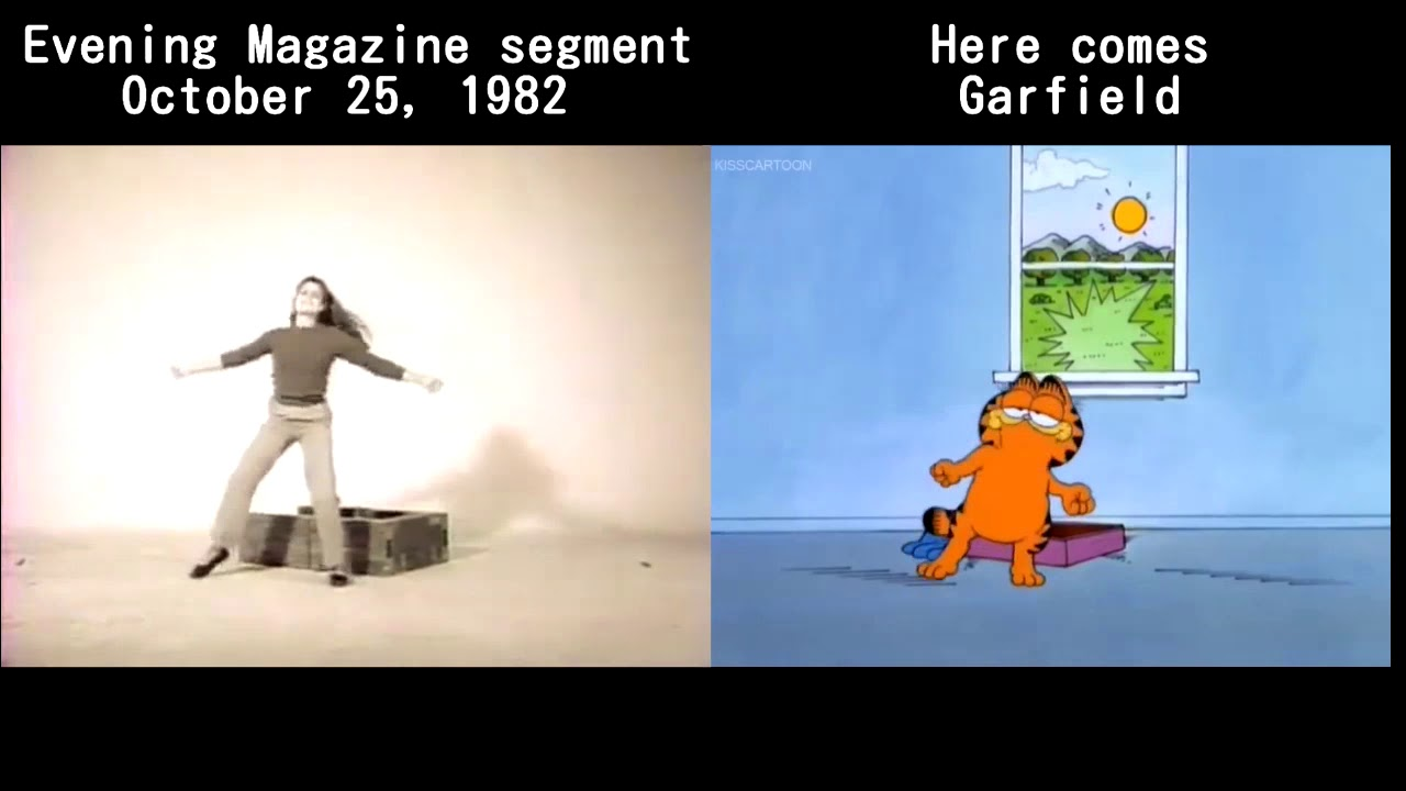 Here Comes Garfield Reference Film Comparision Youtube
