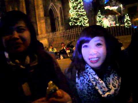 Tra chanh Noel 25 12 2011 tại nhà thờ lớn Hà Nội 2