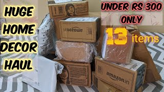 Amazon Home Decor Haul   Under 300   Home Decor In Budget   Unboxing And Review