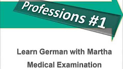 Medical Terms And Phrases - Dialogues Doctor And Patient - Learn German - Deutsch lernen