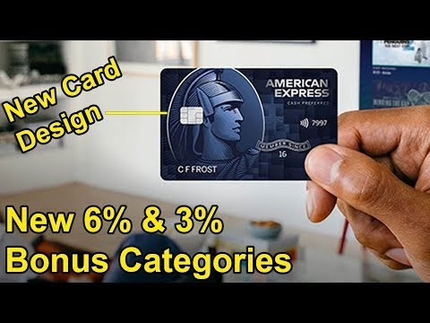 Amex Blue Cash Preferred UPDATES: New 6% And 3% Bonus Categories