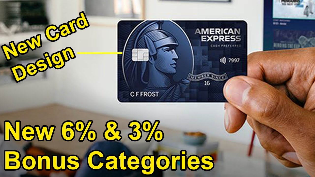 Amex Blue Cash Preferred UPDATES: New 11% and 11% Bonus Categories