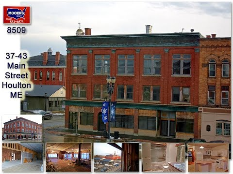 SOLD | 37-43 Main Street Houlton Maine 04730  | Apartments, Offices, Retail | MOOERS #8509