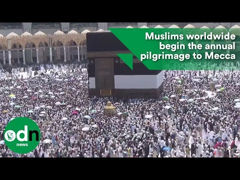 Muslims worldwide begin the annual pilgrimage to Mecca