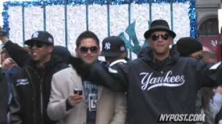 A-Rod, Jay-Z at Yankees Parade - New York Post
