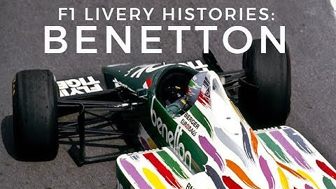 F1 Livery Histories: BENETTON