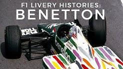 F1 Livery Histories: BENETTON