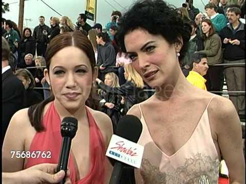 Lara Flynn Boyle Interview 2001 Screen Actors Guild Awards