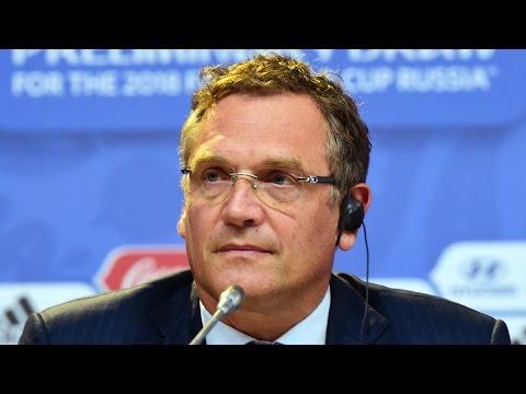 FIFA Executive Jérôme Valcke Suspended Over Corruption Scandal