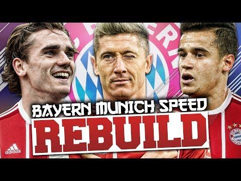 REBUILDING BAYERN MUNICH vs GardieFIFA (Speed Rebuild) - FIFA 18 Career Mode