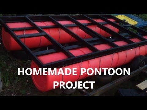 DIY Pontoon Dock / Boat / Barge Build : Part 1