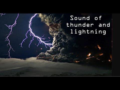 Grzmot i deszcz na relaks