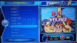 Pandora 6 Arcade 2000 Oyunları - Oyunlar Listesi-B {Video1}