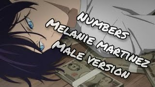 Melanie Martinez - Numbers (Male version)