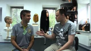 Первый день обучения  Кирилл Васильев   директор уникального салона и новый ученик ШПБ