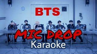 BTS – MIC Drop (Steve Aoki Remix) [KARAOKE + ROMANIZED LYRICS]