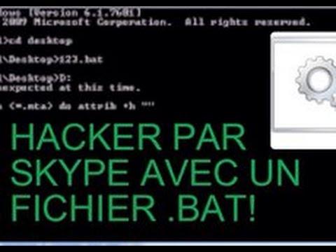 comment hacker une cam skype