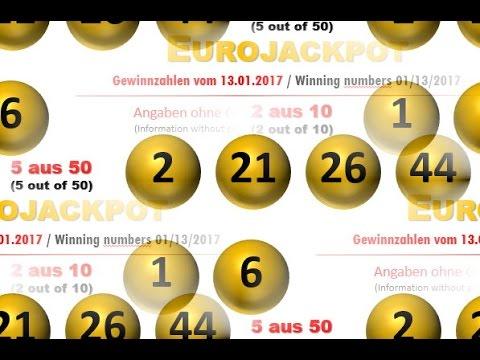 Euro Jackpott Gewinnzahlen