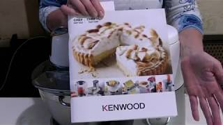 Обзор кухонного комбайна Kenwood KVC 5000T Chef Sense