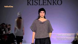 Показ    LUDMILA KISLENKO, Ukrainian Fashion Week, Осень Зима 2016 17
