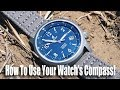 How To Use Your Watch's Compass!
