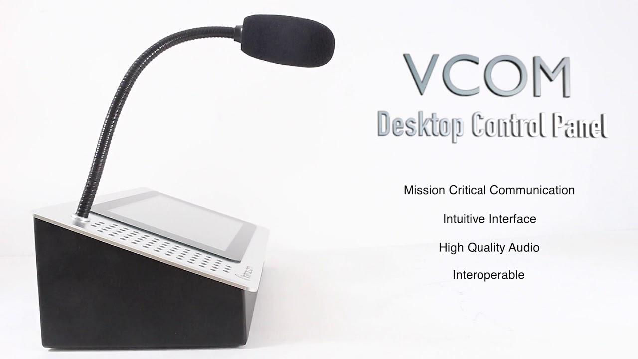 VCOM Desktop Control Panel D405