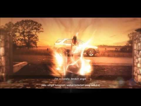 Broken Angel - Arash Ft. Helena (With Lyrics & Indonesian Translate) (HD)