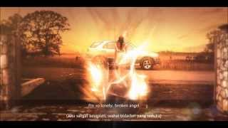 Broken Angel - Arash Ft. Helena (With Lyrics & Indonesian translate) (HD)