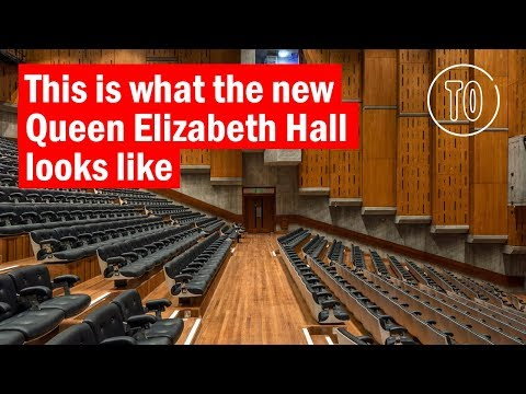 Take a look at the new Queen Elizabeth Hall | First look