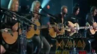 Taylor swift dt. Def leppard two steps behind (cover live)