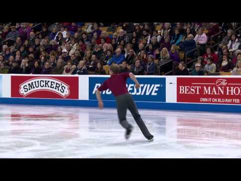 2014 prudential u s figure skating championships championship men sp 13   Robert Przepioski High Def