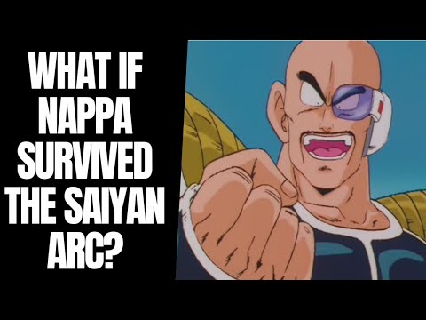 What if Nappa survived the Saiyan Saga in Dragon Ball Z?