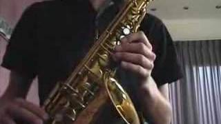 Me playing Rabbits in the Pea Patch ( Maceo Parker)