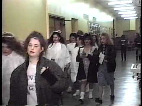 Port Richmond Senior Sing '91 Staten Island New York Part 4 behind the scenes...
