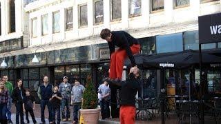 Boston (Massachusetts) - Street Theatre - Red Trousers