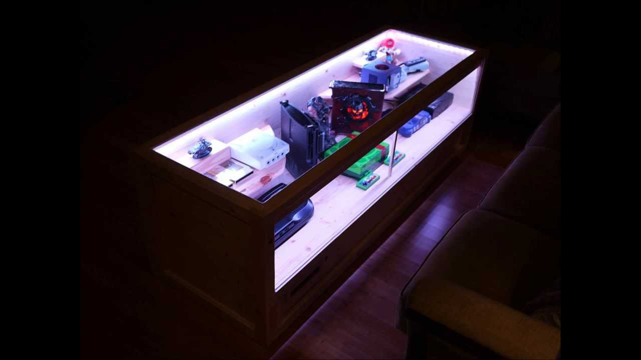 Video Game Console Coffee Table Youtube