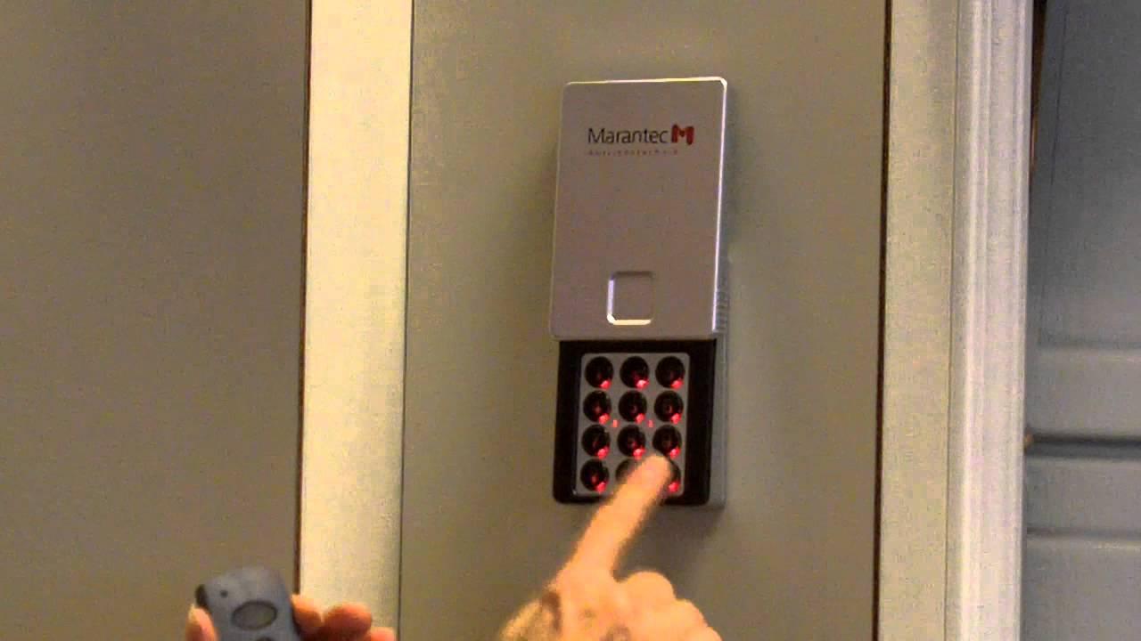 M13 631 Marantec Keypad  YouTube