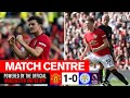 Maguire & McTominay Shine Against Leicester | Match Centre | United 1-0 Leicester