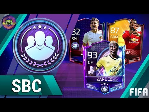 SBC'S ARE HERE! HOW TO COMPLETE THE WEEKLY SQUAD BUILDING CHALLENGES! FIFA MOBILE 18