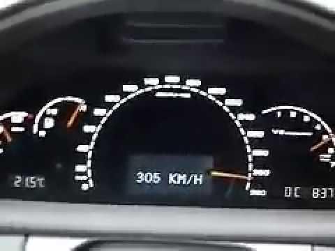 Mercedes CL 55 Hız Testi By SU