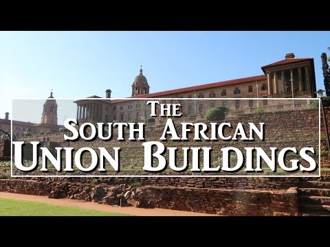 The Union Buildings- Pretoria - Like our Whitehouse