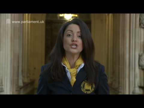 UK Parliament tour - Central Lobby