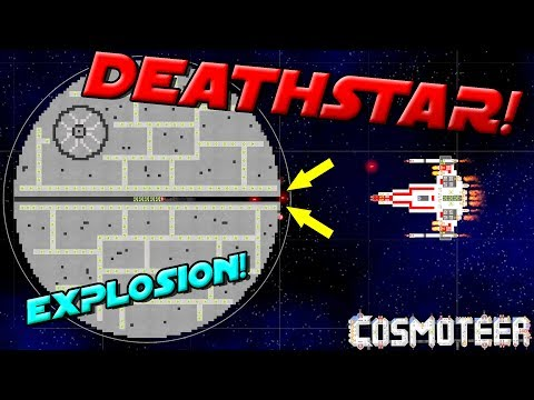 X-WING VS DEATH STAR (Epic Chain Reaction)! - Cosmoteer Gameplay Ep4