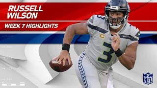 Russell Wilson's Amazing Performance w/ 334 Yards & 3 TDs! | Seahawks vs. Giants | Wk 7 Player HLs