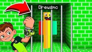 Minecraft : ESCAPING BEN 10'S PRISON! (Ps3/Xbox360/PS4/XboxOne/PE/MCPE)