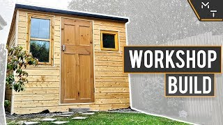 Building a Workshop Shed In The UK From Scratch